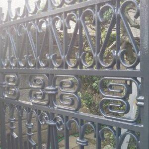 埼玉県さいたま市西区 I様邸 屋根塗装・付帯部塗装 門扉錆び止め、仕上げ塗装 (3)