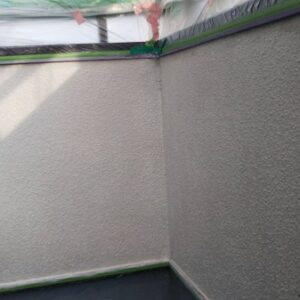 埼玉県さいたま市南区 S様邸 屋根塗装・外壁塗装 養生 下塗り (5)