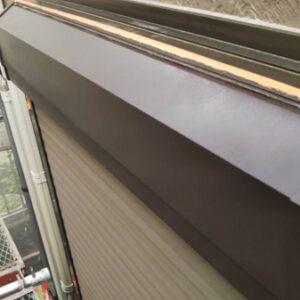埼玉県さいたま市南区 T様邸 屋根塗装・外壁塗装・付帯部塗装 幕板、雨樋、シヤッターボックス 錆び止めの目的とは (1)