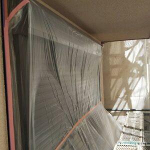 埼玉県さいたま市南区 S様邸 屋根塗装・外壁塗装 養生 下塗り (1)