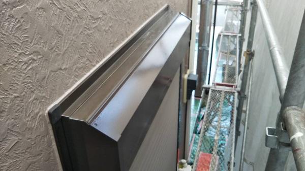 埼玉県さいたま市南区 T様邸 屋根塗装・外壁塗装・付帯部塗装 幕板、雨樋、シヤッターボックス 錆び止めの目的とは (2)