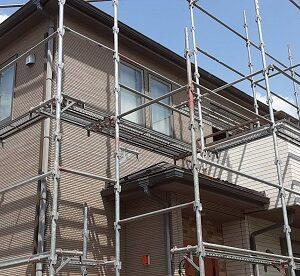 埼玉県さいたま市緑区 S様邸 外壁塗装 仮設足場 メッシュシート (4)