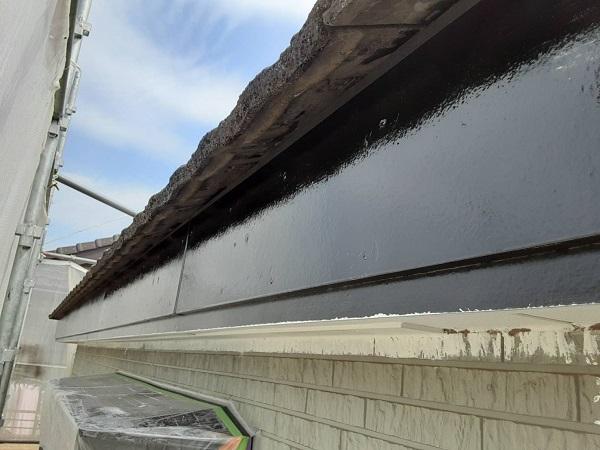 埼玉県さいたま市岩槻区 I様邸 屋根塗装・外壁塗装 破風板金、鼻隠し塗装 付帯部とは (3)