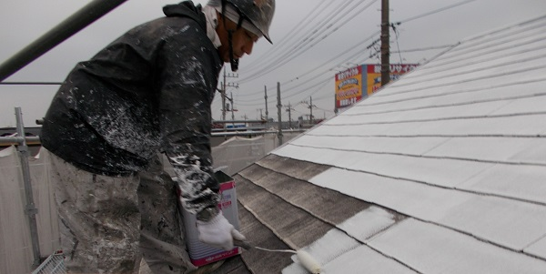 埼玉県越谷市 K様邸 屋根塗装・外壁塗装・防水工事 (46)
