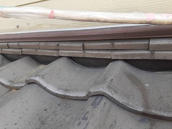 埼玉県さいたま市西区 S様邸 漆喰工事・外壁塗装 土間養生 漆喰の劣化症状