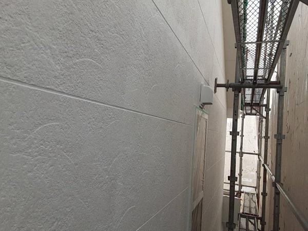 埼玉県さいたま市中央区 H様邸 外壁塗装・付帯部塗装 軒天塗装 外壁下塗り