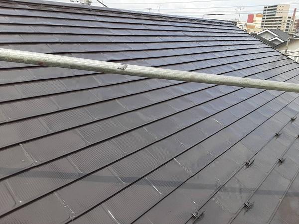 埼玉県さいたま市岩槻区 K様邸 屋根塗装・外壁塗装 屋根3度塗り 雪止め (2)