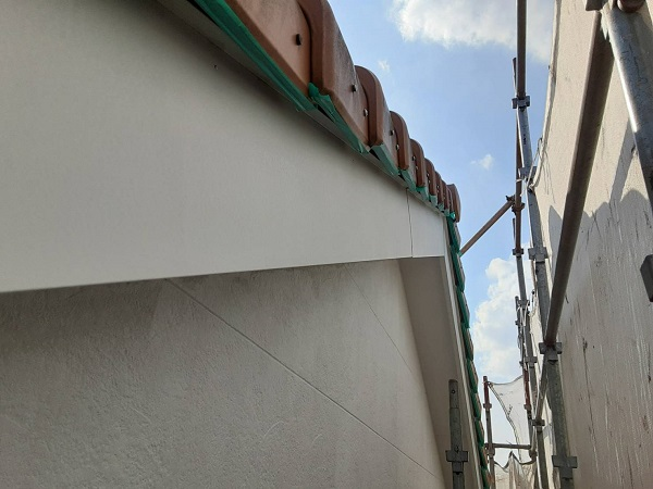 埼玉県さいたま市中央区 H様邸 外壁塗装・付帯部塗装 板金 錆び止め塗装