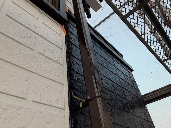 埼玉県さいたま市西区 N様邸 屋根塗装・外壁塗装 雨樋塗装 基礎塗装 雨樋の素材別劣化症状 (2)