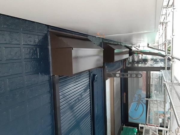 埼玉県さいたま市西区 N様邸 屋根塗装・外壁塗装 シャッター、シャッターボックスの塗装 難易度の高い塗装とは (3)