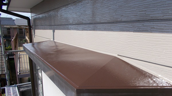 埼玉県川越市 S様邸 外壁塗装・瓦漆喰工事・防水工事 (4)