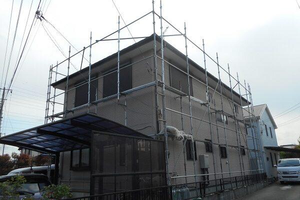 埼玉県白岡市 K様邸 屋根塗装・外壁塗装・付帯部塗装 (54)