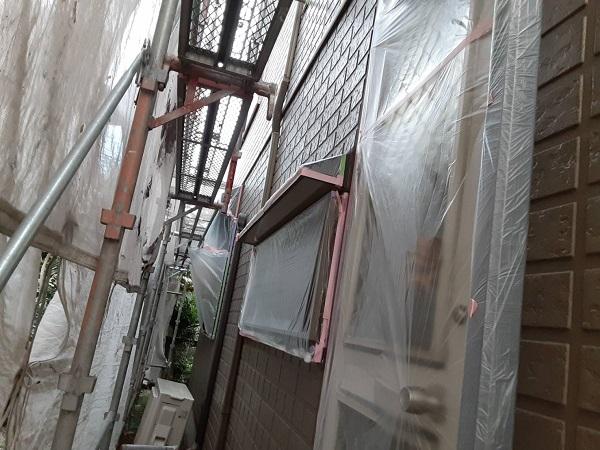 埼玉県さいたま市西区 N様邸 屋根塗装・外壁塗装 下地処理 養生