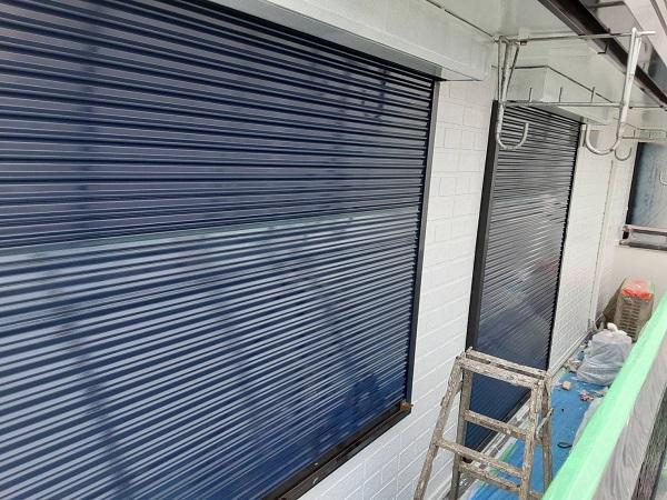 埼玉県さいたま市西区 N様邸 屋根塗装・外壁塗装 シャッター、シャッターボックスの塗装 難易度の高い塗装とは (1)
