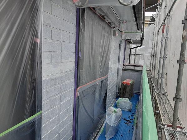 埼玉県さいたま市西区 N様邸 屋根塗装・外壁塗装 下塗り (1)
