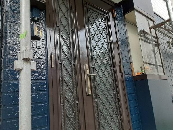 埼玉県さいたま市西区 N様邸 屋根塗装・外壁塗装 金属製ドアの塗装 DIYをオススメできない理由 (1)