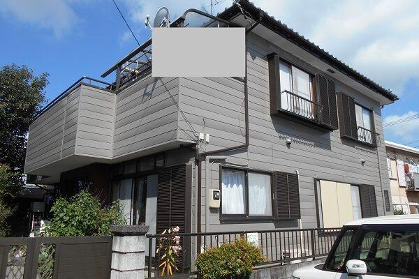 埼玉県川越市 S様邸 外壁塗装・瓦漆喰工事・防水工事 (1)